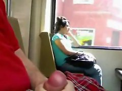Exhibitionist Wank And Cum For Girls In Public