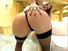 Katy Caro's Ass Gaping