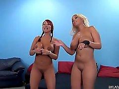 Ava Devine Bridgette B Cock Sucking Challenge