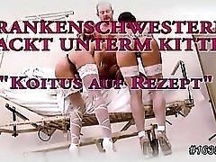 Krankenschwester Nackt Unterm Kittel German