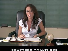 Sexy Busty School Teacher Fucks Her Students Bigdick In Detention