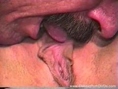 Threesome For Classic Milf Retro Sex