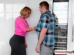 Busty MILF Pussyfucked Doggystyle