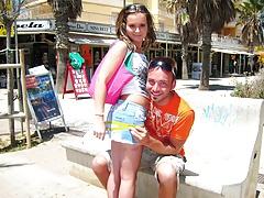 Sweet Teenie Auf Mallorca Aufgerissen