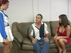 Mature Couple Spanking Hard Redhead Teen S Ass On Couch F70
