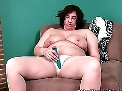51 Year Old Granny With Leaking Nipple And Dripping Pussy