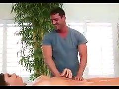 Special Massage For Beatiful Brunette