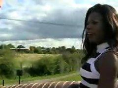 Black British Girl For White Dick
