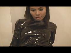 Black Pvc Catsuit