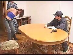 Russian Police Vs Teen Girl