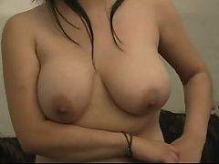Fat Chubby Girlfriend Playing With Her Wet Hairy Pussy