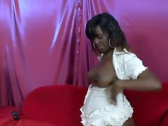 Pregnant Hot Ebony Gets Fucked