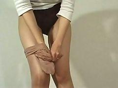 Jap Shiny Pantyhose
