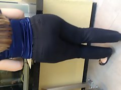 Big Booty Mexican In Black Jeans