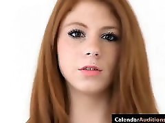 Redhead Madelyn Rose In A Casting