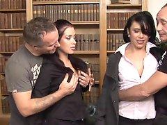 Hannah Shaw & Aaliyah In An Mmff Scene