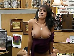 Beautiful Perfect Boobs Latina Milf Blows & Bangs