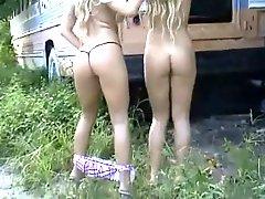 Twins Striptease Show