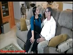 Pregnent Daughter Back At Home Daddy Does Doggy Fuck
