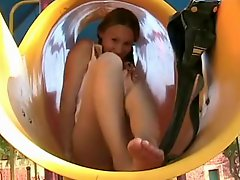 Teen In The Playground