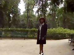 French Black Milf
