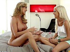 Mommysgirl Teens First Lesbian Sex With Step Mom Full Scene