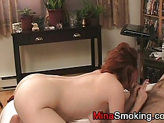 Smoking Blowjob Fetish