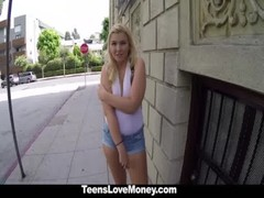 Teenslovemoney Model Wannabe Fucked Hard For Cash