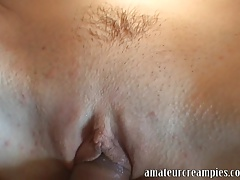 Hot Blond Gets A Deep Risky Creampie