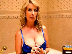Pretty Busty Mature Makeup And Deep Anal