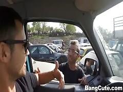 Franceska Jaimes Fucks Around Town