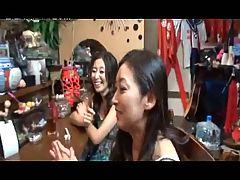 4 Mature Japanese Sluts Fuck In Karaoke Bar Uncensored