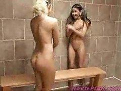 Lesbian Teens Caught