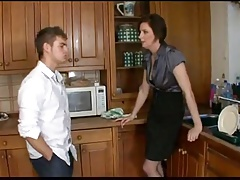 Nasty Mom To Friends And Fuck Step Son