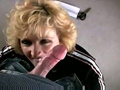 Raquel Devonshire Sucks And Takes Cum In Her Mouth