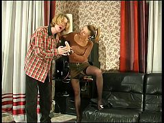 Russian Blonde With Strapon 3