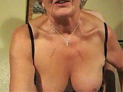 British Granny Steph Short Video