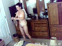 Mom Being Spied On Hiddencam