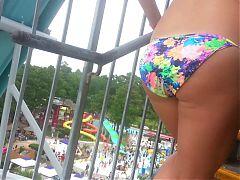 Water Park Bikini Booty 5