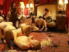 Real Swingers Orgy
