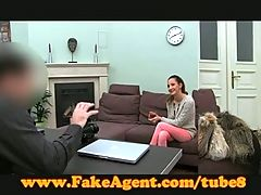 Fakeagent Student Tries Anal In Casting