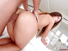 Allinternal Threesome Ass Sex For Gorgeous Brunette Regina C