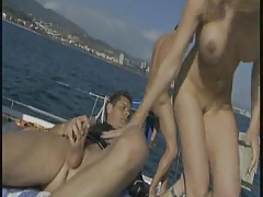 Love In Barcellona On Boat