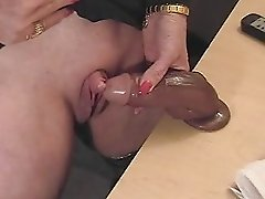 This Horny Granny Loves To Rub Her Big Clitoris Amateur