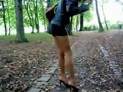 Miniskirt And Heels 2