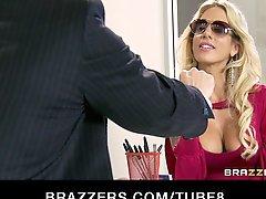 Cheating Big Tit Blonde Wife Fucks Salesman S Big Dick In Office