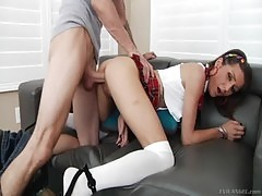Renee Roulette At Anal Finishing School Lewood
