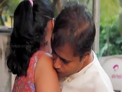 Desi Aunty And Uncle Hot Romance At Balcony