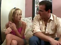 Sexy Blonde Teen Seduces Her Stepdad