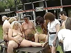 Oldies Outdoor Orgy